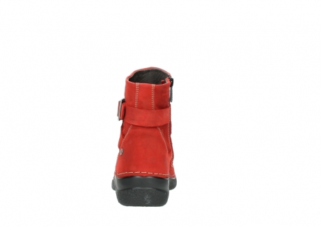 wolky stiefeletten 6293 roll point 550 rot geoltes leder_7