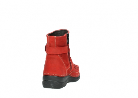 wolky stiefeletten 6293 roll point 550 rot geoltes leder_8