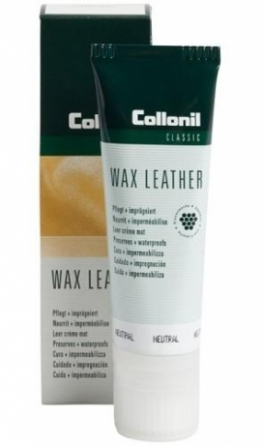 wolky gevet en gewaxt leer wax leather tube neutraal
