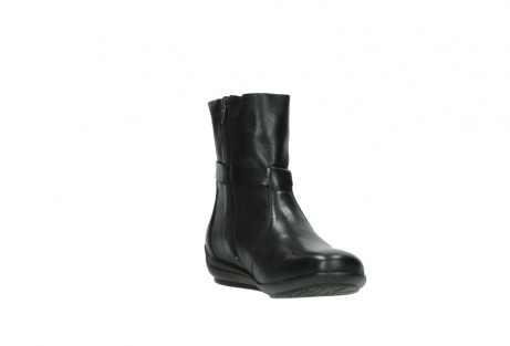 wolky mid calf boots 00381 solano 20000 black leather_17