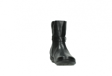 wolky mid calf boots 00381 solano 20000 black leather_18