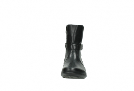wolky mid calf boots 00381 solano 20000 black leather_19