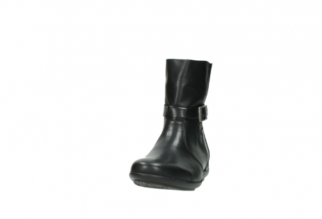 wolky mid calf boots 00381 solano 20000 black leather_20