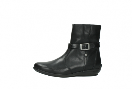 wolky mid calf boots 00381 solano 20000 black leather_24