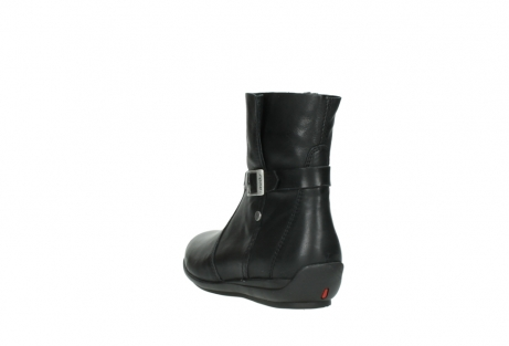 wolky mid calf boots 00381 solano 20000 black leather_5