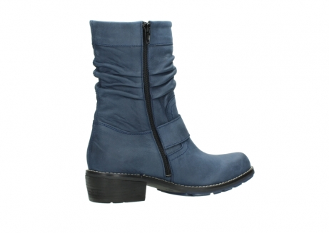 wolky mid calf boots 00526 desna 10800 dark blue oiled nubuck_11