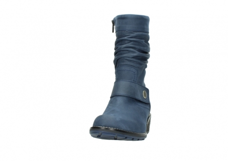 wolky mid calf boots 00526 desna 10800 dark blue oiled nubuck_20