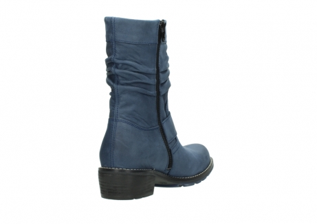 wolky mid calf boots 00526 desna 10800 dark blue oiled nubuck_9