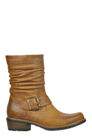 wolky mid calf boots 00557 blanco 80920 ocher leather