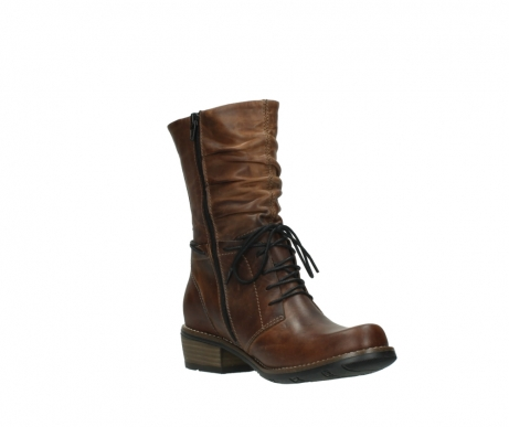 wolky mid calf boots 00558 casca 80430 cognac leather_16