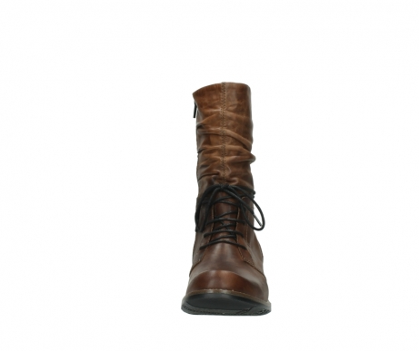 wolky mid calf boots 00558 casca 80430 cognac leather_19