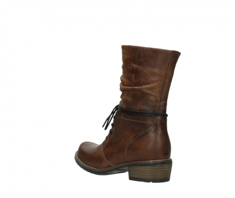 wolky mid calf boots 00558 casca 80430 cognac leather_4