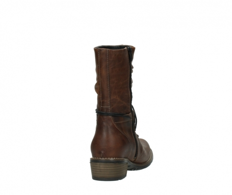 wolky mid calf boots 00558 casca 80430 cognac leather_8