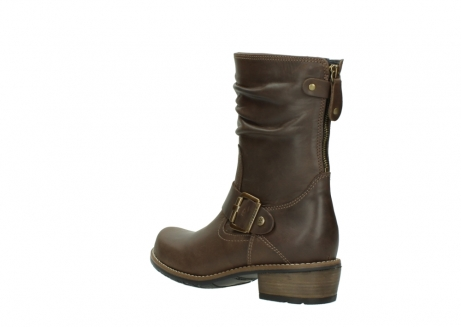 wolky mid calf boots 00572 lis 50152 taupe leather_4
