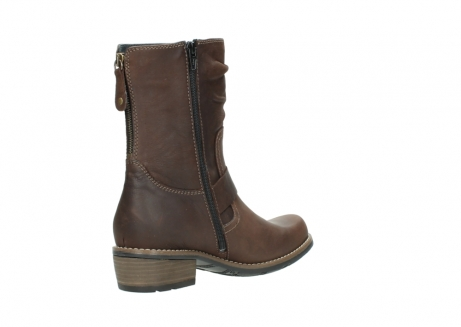 wolky mid calf boots 00572 lis 50302 brown leather_10