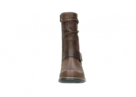 wolky mid calf boots 00572 lis 50302 brown leather_19