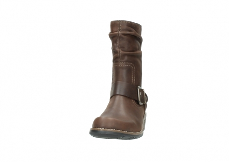 wolky mid calf boots 00572 lis 50302 brown leather_20