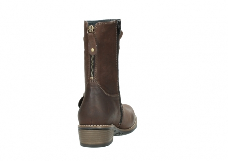 wolky mid calf boots 00572 lis 50302 brown leather_8