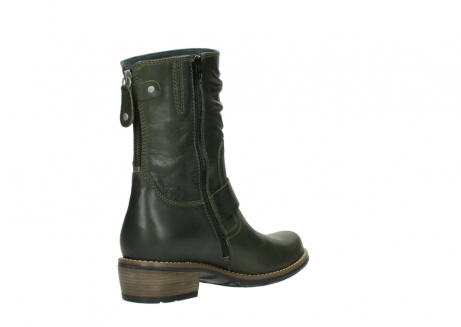 wolky mid calf boots 00572 lis 50732 forestgreen leather_10