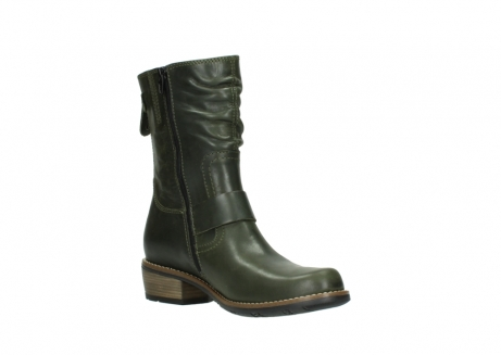 wolky mid calf boots 00572 lis 50732 forestgreen leather_16