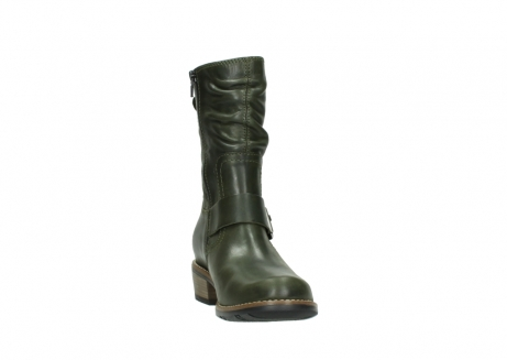 wolky mid calf boots 00572 lis 50732 forestgreen leather_18