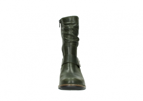 wolky mid calf boots 00572 lis 50732 forestgreen leather_19