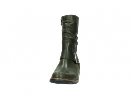 wolky mid calf boots 00572 lis 50732 forestgreen leather_20