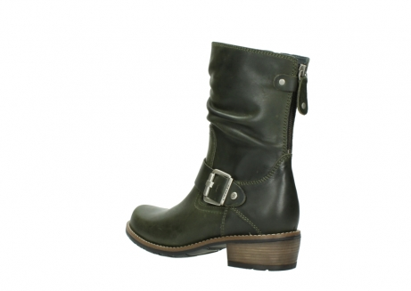 wolky mid calf boots 00572 lis 50732 forestgreen leather_4