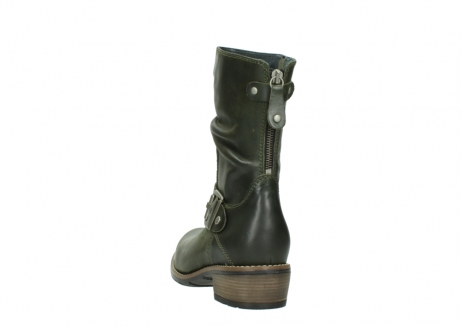 wolky mid calf boots 00572 lis 50732 forestgreen leather_6