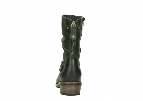 wolky mid calf boots 00572 lis 50732 forestgreen leather_7