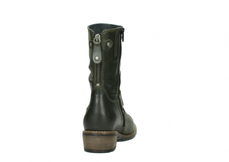 wolky mid calf boots 00572 lis 50732 forestgreen leather_8
