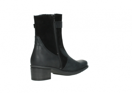 wolky mid calf boots 00934 dalton 50000 black oiled leather_10