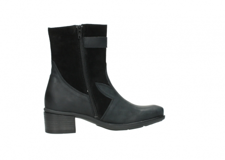 wolky mid calf boots 00934 dalton 50000 black oiled leather_12