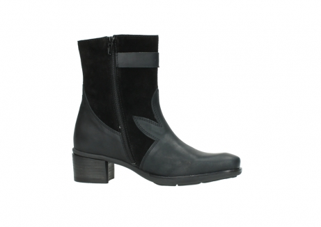 wolky mid calf boots 00934 dalton 50000 black oiled leather_14