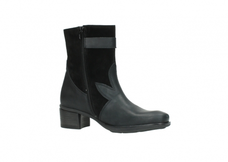 wolky mid calf boots 00934 dalton 50000 black oiled leather_15