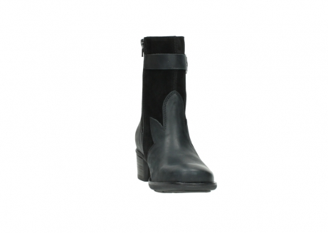 wolky mid calf boots 00934 dalton 50000 black oiled leather_18