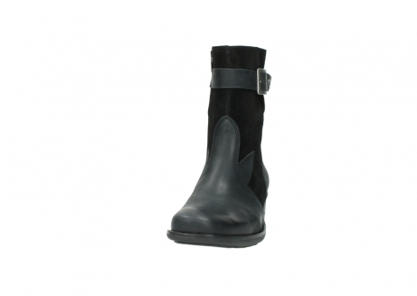 wolky mid calf boots 00934 dalton 50000 black oiled leather_20