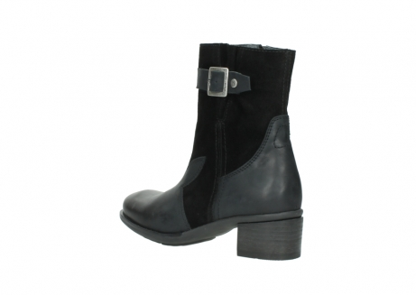 wolky mid calf boots 00934 dalton 50000 black oiled leather_4