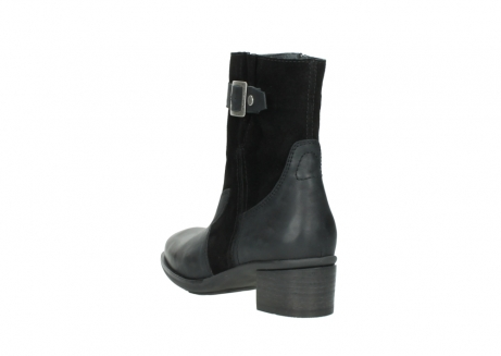 wolky mid calf boots 00934 dalton 50000 black oiled leather_5