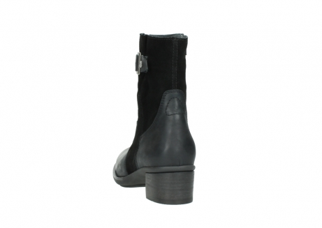 wolky mid calf boots 00934 dalton 50000 black oiled leather_6