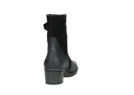 wolky mid calf boots 00934 dalton 50000 black oiled leather_8
