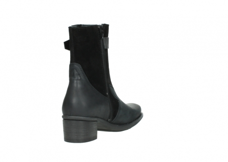 wolky mid calf boots 00934 dalton 50000 black oiled leather_9