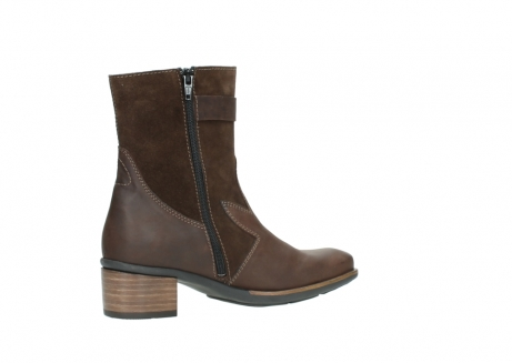 wolky mid calf boots 00934 dalton 50300 brown oiled leather_11