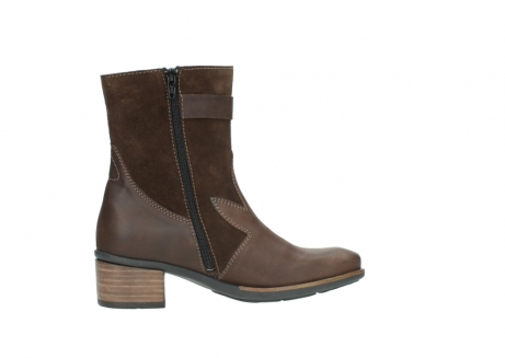 wolky mid calf boots 00934 dalton 50300 brown oiled leather_12