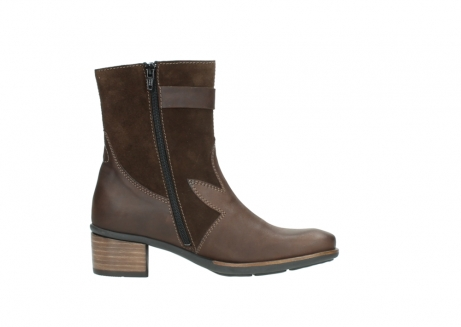 wolky mid calf boots 00934 dalton 50300 brown oiled leather_13
