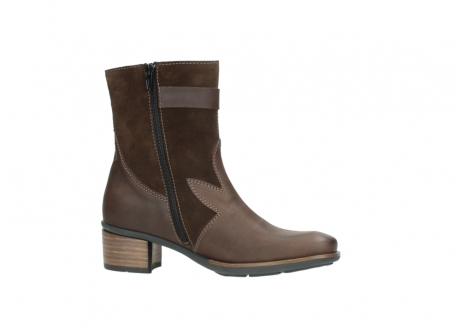 wolky mid calf boots 00934 dalton 50300 brown oiled leather_14