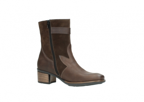 wolky mid calf boots 00934 dalton 50300 brown oiled leather_15