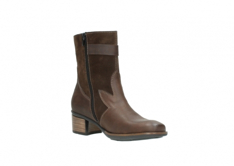wolky mid calf boots 00934 dalton 50300 brown oiled leather_16