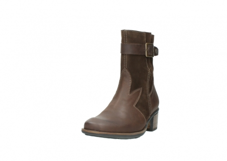 wolky mid calf boots 00934 dalton 50300 brown oiled leather_21