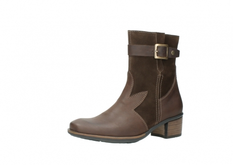 wolky mid calf boots 00934 dalton 50300 brown oiled leather_23
